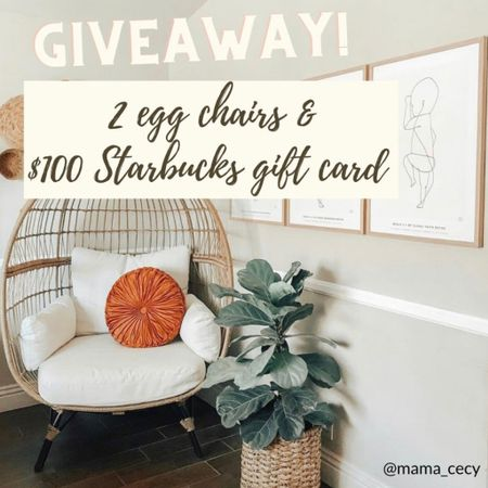 Great giveaway on my Instagram! Linked some egg chairs that can be found on Target! http://liketk.it/3fwlE #liketkit @liketoknow.it #LTKhome #LTKfamily #LTKsalealert @liketoknow.it.brasil @liketoknow.it.europe @liketoknow.it.home @liketoknow.it.family Download the LIKEtoKNOW.it shopping app to shop this pic via screenshot