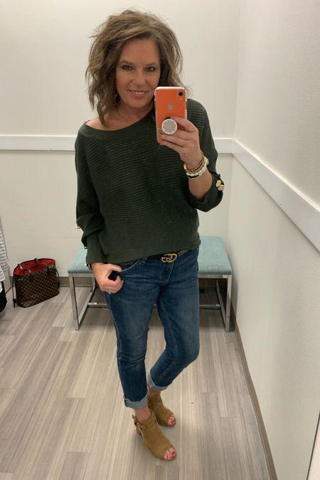 Loving this olive dolman sweater!! Size up to get a slouchy look like I did!! http://liketk.it/2FpAa @liketoknow.it Shop my daily looks by following me on the LIKEtoKNOW.it shopping app #liketkit #LTKunder50 #LTKworkwear #LTKstyletip #LTKsalealert #LTKshoecrush #LTKtravel #LTKunder100