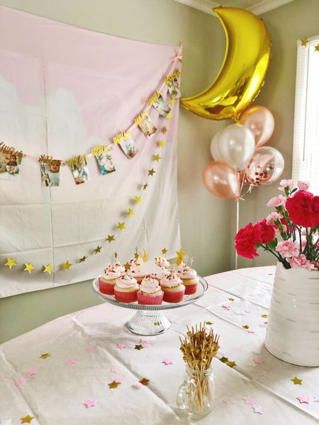 Some of the beautiful details from Pearl's first birthday party! Twinkle twinkle little star, one year old is what you are!   #LTKbump #LTKbaby #LTKhome