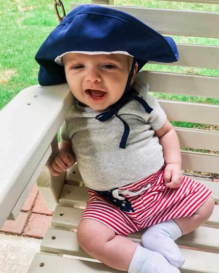 Red, white and blue baby boy outfit http://liketk.it/3gz4I #liketkit @liketoknow.it #LTKbaby