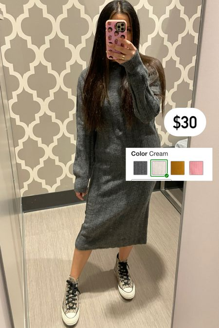 Target sweater dress   #LTKunder50 #LTKstyletip #LTKunder100