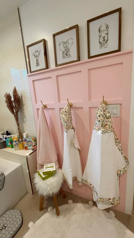 Nursery kids baby bathroom hooded towels bamboo towels http://liketk.it/3a8zH #liketkit @liketoknow.it #LTKbaby #LTKfamily #LTKhome