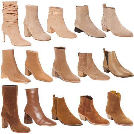 The ultimate bootie roundup 🙌🏼 From suede to leather, there's a style for everyone!   #tssedited #thestylescribe #fall #boots #bootie #shoes #neutrals  #LTKSeasonal #LTKshoecrush