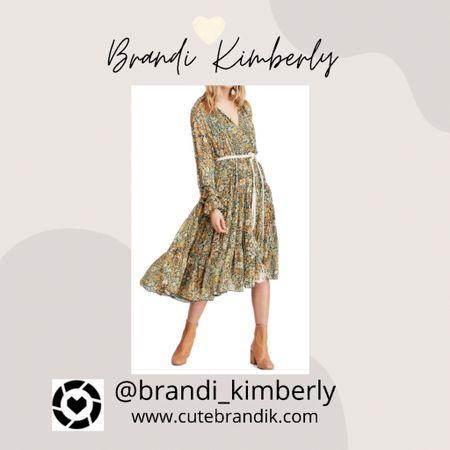 Lovely floral dress has 60s vibes   #LTKstyletip #LTKbacktoschool #LTKSeasonal