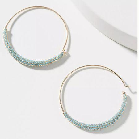 Earrings by Anthropologie ✨   http://liketk.it/3jr2X @liketoknow.it #liketkit #LTKstyletip #LTKunder50 #LTKwedding