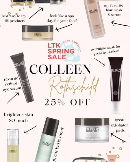 """LTK spring sale - USE CODE """"LTKSPRING"""" to get 25% off the Colleen Rothschild site! http://liketk.it/3clTs #liketkit @liketoknow.it #LTKSpringSale #LTKbeauty #LTKunder50"""