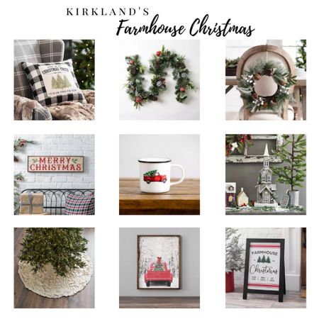 Create the perfect farmhouse setting with this gorgeous Christmas farmhouse inspired decor! So many beautiful items! #Christmas #farmhousedecor #liketkit #LTKhome #StayHomeWithLTK #LTKstyletip @liketoknow.it @liketoknow.it.home @liketoknow.it.family Shop your screenshot of this pic with the LIKEtoKNOW.it shopping app! ➡️ http://liketk.it/2ZYX9