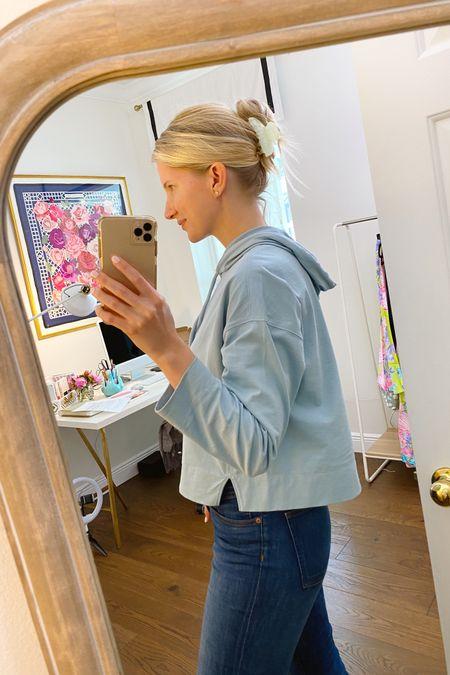Soft jersey hoodie http://liketk.it/3jMrm @liketoknow.it #liketkit