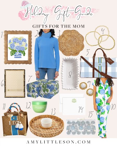 NEW Gift Guide Today- Gifts for the Mom! For all the links, head over to amylittleson.com 💙🌼  #holiday2021 #giftguides #giftsformom #smallbusiness #smallbiz #shopsmall  #LTKSeasonal #LTKHoliday #LTKGiftGuide