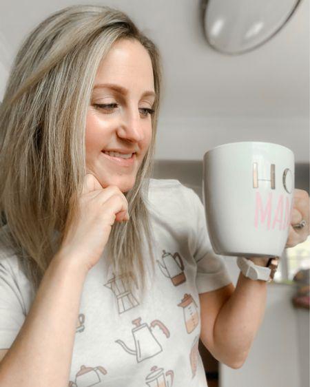 An adorable coffee lover's tee shirt! http://liketk.it/3cQHC #liketkit @liketoknow.it