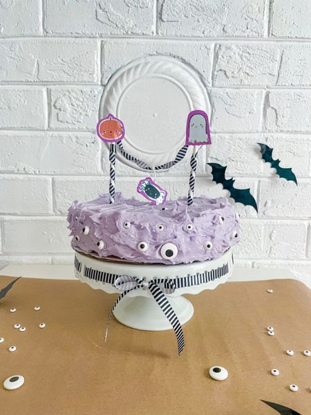 MonSter cake Halloween baking Inspo   #LTKSeasonal #LTKHoliday