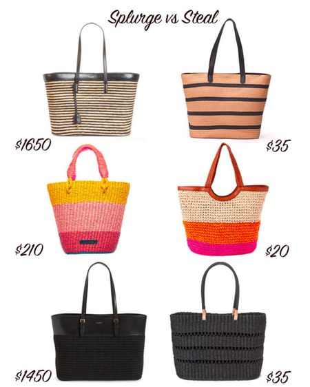 I found some of the best summer beach bags and totes. Splurge on a designer straw bag or get a steal!   #LTKunder50 #LTKitbag #LTKSeasonal