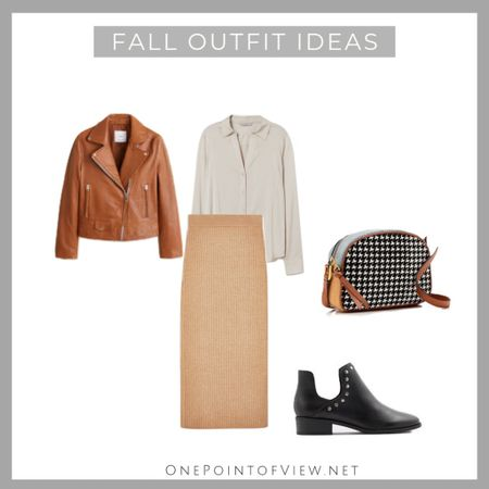 Another outfit from my fall capsule wardrobe😊 This is all-day-outfit. You can wear it to work, after work and even a casual night out. - pencil skirt, leather jacket, crossbody bag, basic shirt, ankle boots, work wear, teacher outfit, knit skirt  http://liketk.it/2FX0r #liketkit @liketoknow.it   #LTKeurope #LTKitbag #LTKsalealert #LTKshoecrush #LTKstyletip #LTKunder100 #LTKunder50 #LTKworkwear #LTKtravel @liketoknow.it.europe
