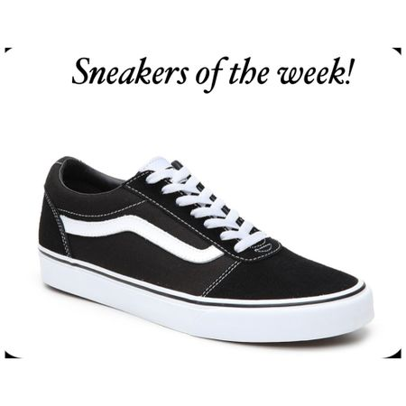 Sneakers of the week! Black and white vans for the summer! #liketkit @liketoknow.it http://liketk.it/3gVdt #LTKstyletip #LTKunder50 #LTKshoecrush Shop your screenshot of this pic with the LIKEtoKNOW.it shopping app