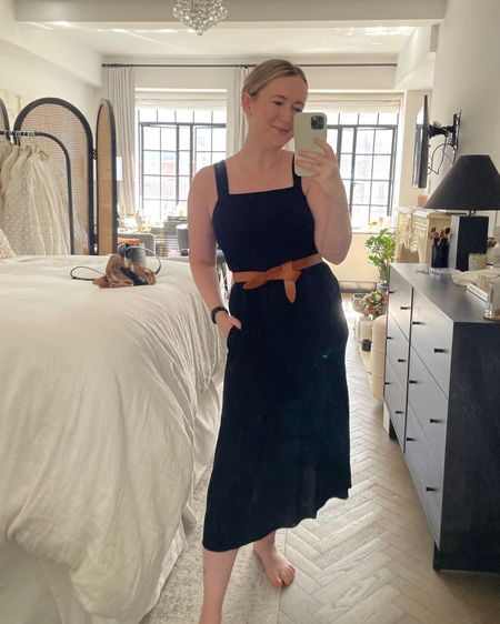 Amazon Fashion tiered midi dress and Isabel bow belt @liketoknow.it http://liketk.it/3hK4m #liketkit