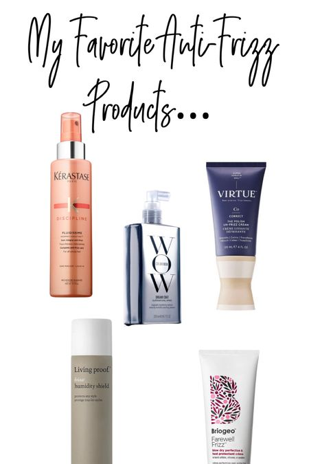 Frizzy hair is an issue when you live in the south like SW Florida.  These products will keep your hair nice all day, I promise!!  #LTKbeauty #LTKstyletip #LTKunder50