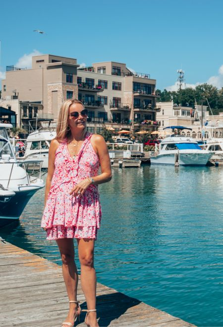 Labor Day ready in the perfect end-of-summer dress. Fits TTS.   #LTKSeasonal #LTKstyletip #LTKtravel