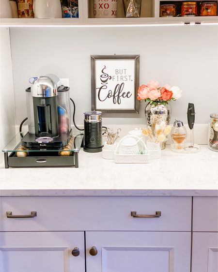 Simple and elegant coffee station! Follow me on the LIKEtoKNOW.it shopping app to get the product details for this look and others #LTKhome #LTKstyletip #liketkit @liketoknow.it #LTKunder50 @liketoknow.it.europe @liketoknow.it.home http://liketk.it/2Ki9D