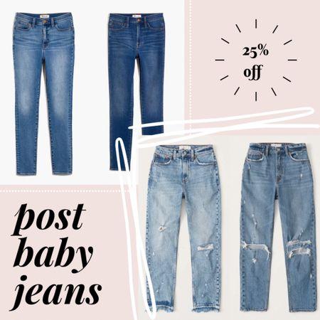My favorite jeans post baby! All part of the @liketoknow.it spring sale!     http://liketk.it/3cBHs #liketkit #LTKSpringSale #LTKsalealert