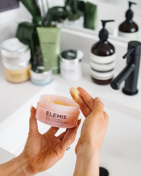 My favorite cleansing balm and way to remove makeup is 25% off! Use code LTK25 to get 25% off. I love how this cleansing balm literally melts off makeup. Also linking the cleanser, resurfacing pads, moisturizer and other items I love from Elemis skincare! It's a part of my nighttime routine I don't skip!   #LTKSale #LTKbeauty #LTKsalealert