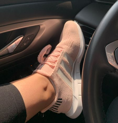 Love these workout shoes! I get so many complements on the pink color. Sock material in these swift run are so comfy for the gym and running errands   #LTKfit #LTKshoecrush #LTKbacktoschool