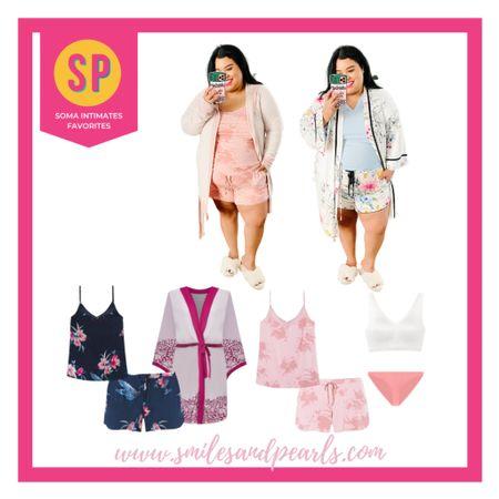 Soma Intimates pajamas and loungewear   #LTKcurves #LTKSeasonal #LTKSpringSale