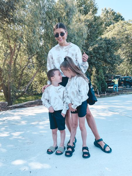 Matching with the kids!  #LTKkids #LTKfamily