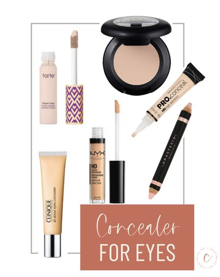 These are my favorite concealers for eyes!   #LTKstyletip #LTKbeauty #LTKunder50