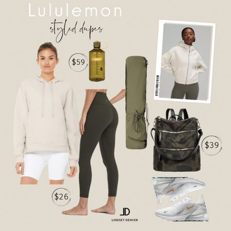 Lululemon Looks Created with affordable dupes with similar quality.   ALO scuba hoodie $59 Lululemon align dupes $26 Nike air max 270  restocked    Follow me and style with me! I am so glad and grateful you are here!🥰 @lindseydenverlife 🤍🤍🤍     _____   Business Casual Old Navy Deals Walmart Finds Target Looks #GapHome Shein Haul Nordstrom Sale  Wedding Guest Dresses Plus Size Fashions Back to School Maternity Style Teacher Outfits #Leeannbenjamin #stylinbyaylin #cellajaneblog #lornaluxe #lucyswhims #amazonfinds #walmartfinds #interiorsesignerella #lolariostyle         Follow me and style with me! I am so glad and grateful you are here!🥰 @lindseydenverlife 🤍🤍🤍         ________     lululemon leggings lululemon outlet lululemon sale lululemon shorts lululemon mirror lululemon we made too much mirror lululemon lululemon black friday lululemon yoga mat #Leeannbenjamin #stylinbyaylin #cellajaneblog #lornaluxe #lucyswhims #amazonfinds #walmartfinds #interiorsesignerella #lolariostyle   lululemon align leggings lululemon align lululemon hours lululemon pants lululemon store lululemon abc pants lululemon coupons athleta lululemon we made too much lulu leggings lululemon yoga pants Follow my shop on the @shop.LTK app to shop this post and get my exclusive app-only content! Follow my shop on the @shop.LTK app to shop this post and get my exclusive app-only content!  #liketkit #LTKfit #LTKworkwear #LTKunder50 @shop.ltk http://liketk.it/3kXwr