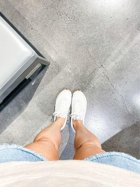 Women's neutral Nike sneakers. Daybreak sneaker.   #LTKfit #LTKunder100 #LTKshoecrush