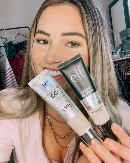 It cc cream vs elf cc cream! My favorite foundations face off. For the price the elf does a great job color correcting! #liketkit http://liketk.it/37qTL @liketoknow.it #LTKVDay #LTKstyletip #LTKbeauty #foundation #cccream #itcc #skincare