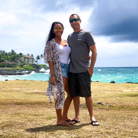 Happy birthday to my amazing and wonderful husband.🎉 Thank you for being the best partner in crime and always making me laugh.💕 I wish we were back in Hawaii soaking up the sun!✨ My kimono is amazon prime and under $20!🙌🏽 It would be perfect with jeans and a wide brim hat for fall.🖤 My bodysuit is also under $20!☺️ Happy Sunday!   You can instantly shop my looks by following me on the LIKEtoKNOW.it shopping app   http://liketk.it/2FNoO @liketoknow.it #liketkit #LTKunder100 #LTKunder50 #LTKtravel #LTKstyletip #LTKsalealert #LTKmens