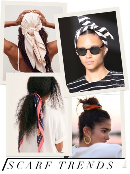 The hottest hair trend this year is all about the scarf in every way possible! 🔥🔥  http://liketk.it/3eJfg #liketkit @liketoknow.it   #LTKbeauty #LTKunder50 #LTKstyletip #hairtrends #headscarf #headwrap #springhairtrends #summerhairtrends #bohohair #runwayhair You can instantly shop my looks by following me on the LIKEtoKNOW.it shopping app