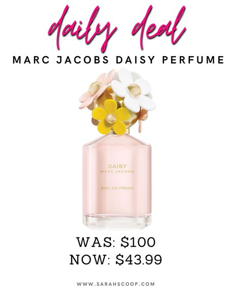 💥A $100 value for $43.99!!💥 With a comforting scent that emanates warmth and beauty this 2.5oz Marc Jacobs Daisy Perfume is a deal you'll want to get now and you can get free 2-day delivery! #dailydeals #walmart #walmartdeals #savetoday #perfume #marcjacobs #deals #freeshipping #daisyperfume   #LTKbeauty #LTKsalealert #LTKstyletip