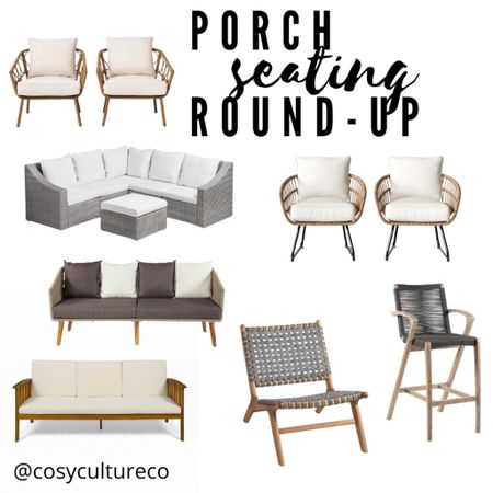 Outdoor patio seating!   Download the LIKEtoKNOW.it shopping app to shop this pic via screenshot 📲   http://liketk.it/3eEY2 #liketkit @liketoknow.it #LTKhome #LTKstyletip @liketoknow.it.home