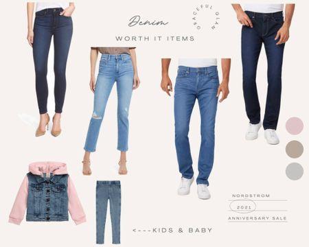 "Nordstrom Anniversary Sale 2021 My ""worth it"" denim finds for the whole family    Paige jeans sale See all my ""worth it"" picks on www.GracefulGlamByDanielle.com 💛   #liketkit http://liketk.it/3jT5x @liketoknow.it #LTKfamily #LTKsalealert #LTKmens"