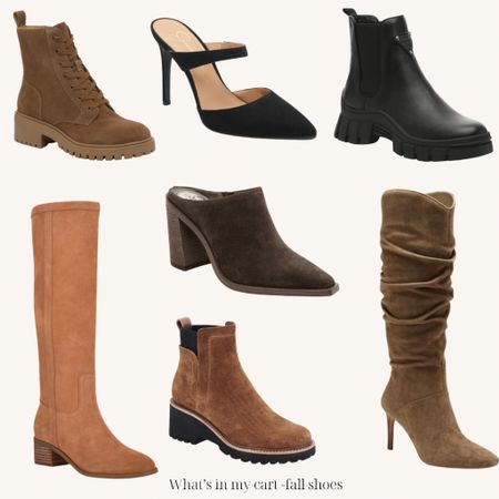 Fall shoe haul   Boots Booties Fall shoes
