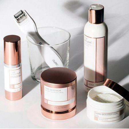 Beauty Bio makes my favorite Jade roller and serum - next up- micro needling  Sale is on- use code BlushRush  #LTKsalealert #LTKbeauty #skincare #summerskin   http://liketk.it/3ijDw #liketkit @liketoknow.it