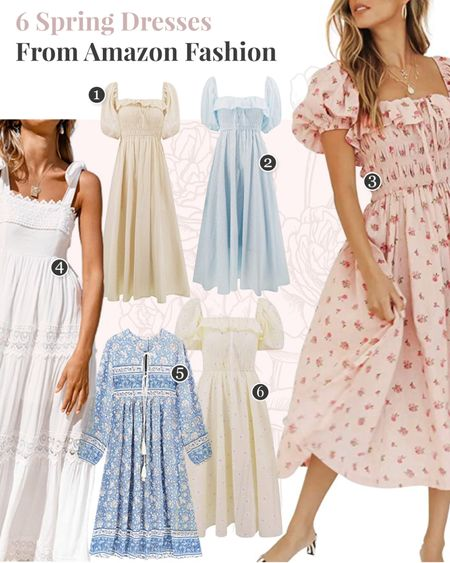 My edit of the best spring dresses from Amazon! http://liketk.it/3ecN2 #liketkit @liketoknow.it #LTKunder100 #LTKunder50