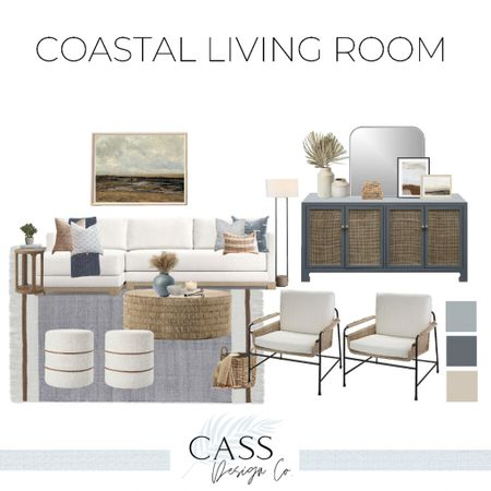 Fall Decor Coastal Living Room Coastal Style Decor