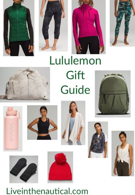 Lululemon Gift Guide!   Lululemon is the gift that keeps giving after the holiday season. From jackets to gloves to bags, to their Luon leggings I always love getting some Lululemon!   #LTKGiftGuide #LTKCyberweek #LTKHoliday