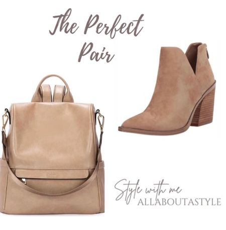 The perfect pair. Women's taupe backpack and booties to hey you thru #fall.  Follow my shop on the @shop.LTK app to shop this post and get my exclusive app-only content!  #liketkit  @shop.ltk http://liketk.it/3nGax Follow my shop on the @shop.LTK app to shop this post and get my exclusive app-only content!  #liketkit #LTKGifts  @shop.ltk http://liketk.it/3nPXW Follow my shop on the @shop.LTK app to shop this post and get my exclusive app-only content!  #liketkit  @shop.ltk http://liketk.it/3nT3J Follow my shop on the @shop.LTK app to shop this post and get my exclusive app-only content!  #liketkit  @shop.ltk http://liketk.it/3nYiL Follow my shop on the @shop.LTK app to shop this post and get my exclusive app-only content!  #liketkit #LTKstyletip #LTKHoliday @shop.ltk http://liketk.it/3o9KV  #LTKHoliday #LTKGiftGuide #LTKSeasonal