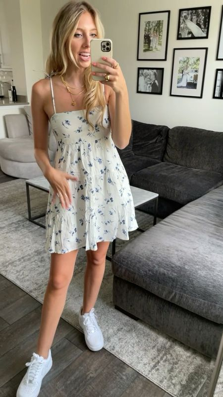 Abercrombie 20% off LTKDAY I'm wearing an XS for reference. Great summer dress for the 4th of July or graduation parties!   #LTKDay #LTKSeasonal #LTKsalealert
