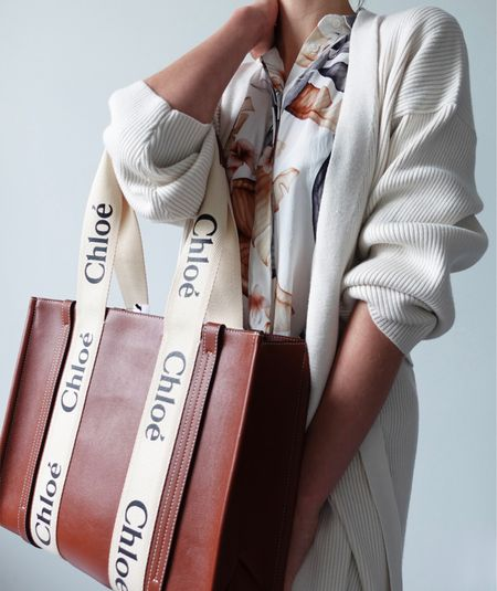 Is this the must-have bag for 2021? Full video now LIVE on YouTube reviewing that Chloe woody tote bag & outfit styling for inspiration.   #chloebag #chloewoddytotebag #designerbag #designertotebag #springoutfit  #LTKtravel #LTKstyletip #LTKSeasonal