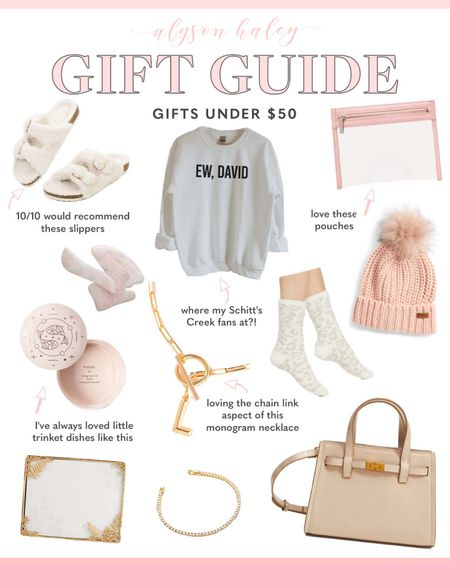 gift guide, holiday gift guide, gifts for her, gifts under $50  #LTKunder50 #LTKGiftGuide #LTKHoliday