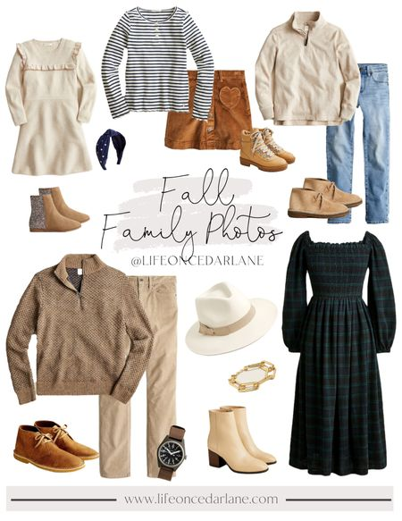 Fall family photo outfit ideas! Check out these looks from J Crew & most on sale, too!! Also, did you know J. Crew has a tween line?!   #familyphotos #fallfashion #fallphotos    #LTKfamily #LTKsalealert #LTKkids