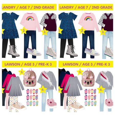 Back to school picks from Walmart / Walmart fashion / Walmart kids #glittersneakers #kidsjeggings #unicornsweater #kidssocks #backpack #kidsleggings #kidslongsleevedress #hightopsneaker #laceupboot #girlsrufflesleevedress http://liketk.it/2TBoi #liketkit @liketoknow.it #LTKunder50 #LTKkids #LTKshoecrush