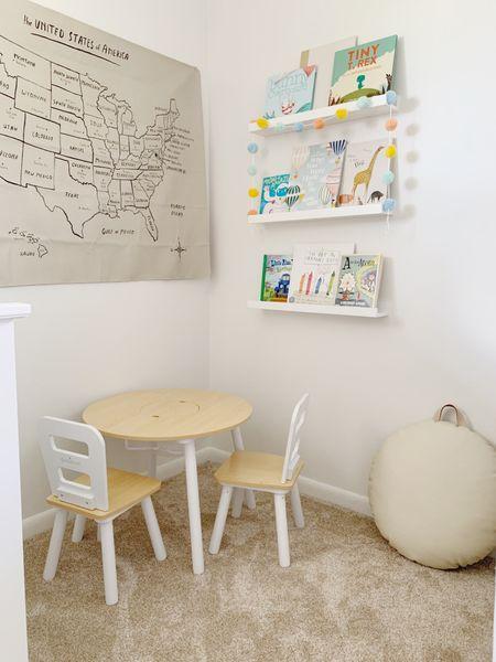 Reading nook, kids bedroom http://liketk.it/3gBhg #liketkit @liketoknow.it #LTKkids #LTKhome #LTKstyletip @liketoknow.it.home