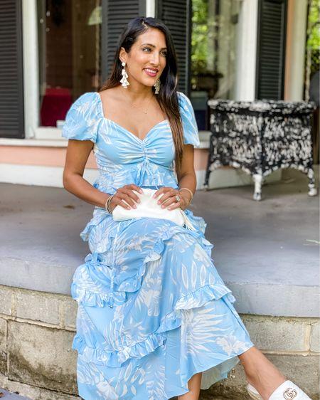 Feeling like a southern belle in this maxi! #maxidress #brunch #vacationoutfit http://liketk.it/3jKl6 #liketkit @liketoknow.it #LTKunder100 #LTKtravel #LTKstyletip