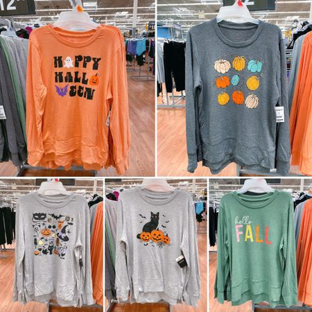 **sizing: this shirt is oversized! I'd stick to your normal size.  New fall pullovers. Halloween pullover, Halloween graphic shirt. Fall graphic t-shirt. Walmart graphic shirt. @walmart @walmartfashion #walmartfinds #walmartfashion #walmarttunicshirt #walmartfall #walmarthalloween #halloweenoutfit    #LTKstyletip #LTKunder50 #LTKSeasonal